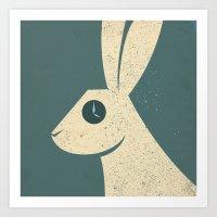 wonderland Art Prints featuring Wonderland... by AQ studio