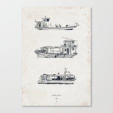 Tigre Delta: Ships Part One Canvas Print