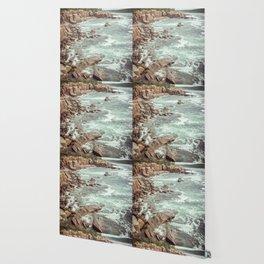 Swirling Sea Wallpaper