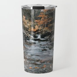 Autumn Creek - Landscape and Nature Photography Travel Mug