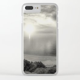 A perfect moment in time Clear iPhone Case