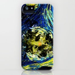 cheshire starry night   iPhone Case