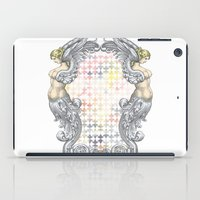 angels iPad Cases featuring Angels by FakeFred
