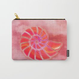 pink wash nautilus Carry-All Pouch