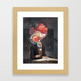 Mutant Scholar Framed Art Print