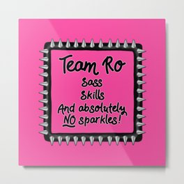 Team Ro Metal Print