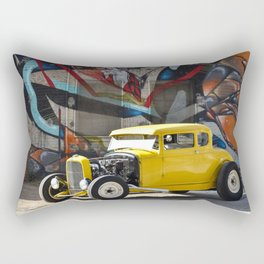 American Grafitti Rectangular Pillow