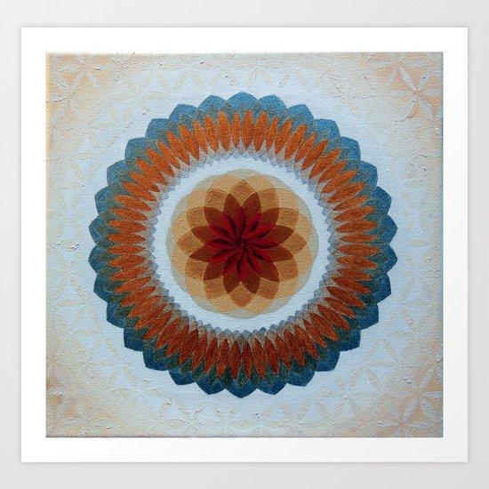 Toroidal Floral (ANALOG zine) Art Print
