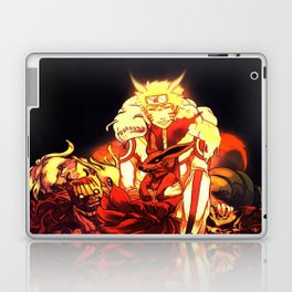naruto and bijuu Laptop & iPad Skin