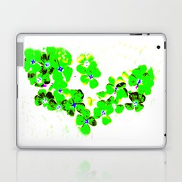 Green Heart Laptop & iPad Skin