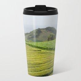 Tea plantation, Sao Miguel, Azores Travel Mug