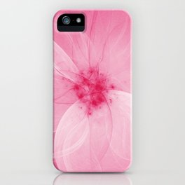 Pink Fairy Blossom Fractal iPhone Case