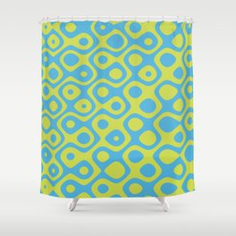 Brain Coral Yellow - Coral Reef Series 022 Shower Curtain
