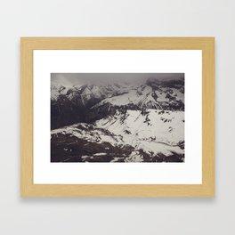 M is For Mountains Framed Art Print