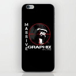 Massive GPX Gorilla Yell iPhone Skin