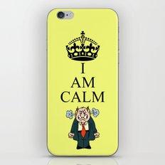 I AM CALM iPhone Skin