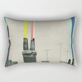 Smoke City Rectangular Pillow