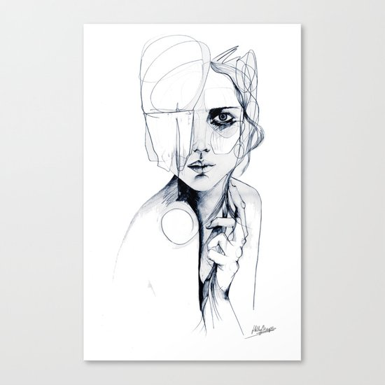 Sketch V Canvas Print