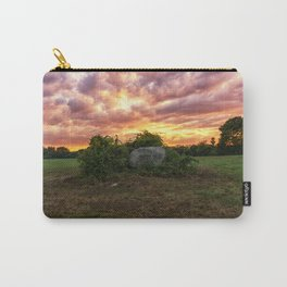 Waring field at sunset Carry-All Pouch