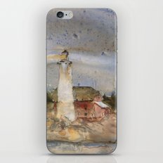 Menagerie Island Lighthouse iPhone & iPod Skin