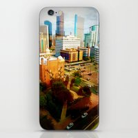 denver iPhone & iPod Skins featuring Denver by Stolen Milk