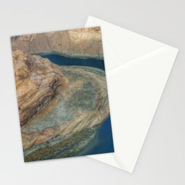 Lake Powell aerial shot Stationery Cards