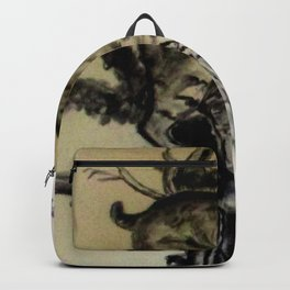 Bob Cat In A Tree Backpack