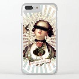 De Mon Coeur Clear iPhone Case