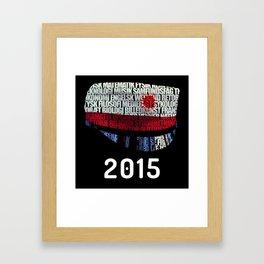 Student 2015 Framed Art Print