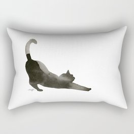 I Love Cats No.1 by Kathy Morton Stanion Rectangular Pillow