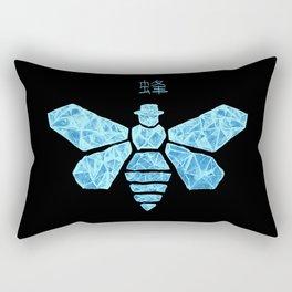Chemical Blue Rectangular Pillow