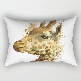 Morning Giraffe Rectangular Pillow