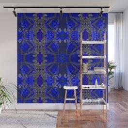Boujee Boho Harmonic Indigo Color Therapy Wall Mural