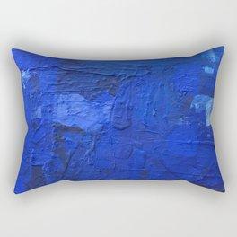 just BLUE Rectangular Pillow