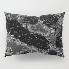 black dragon scales camouflage Pillow Sham