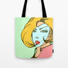 Blond Tote Bag