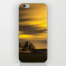 Night at the fields iPhone & iPod Skin