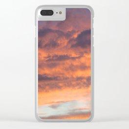 Berkshire Sunset II Clear iPhone Case