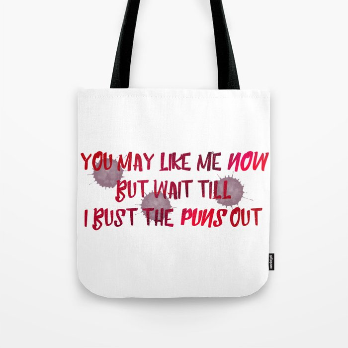 DoodlemercenarySociety6 Bag Bust The Tote Puns By Out dxoBeC
