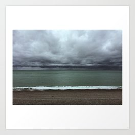 weather colors Art Print