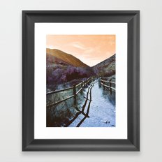 Mission Trails Framed Art Print