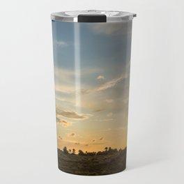 Ocaso en la marisma Travel Mug