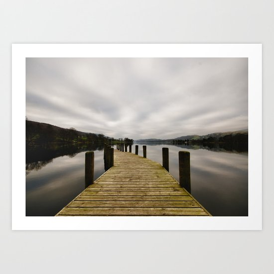 Coniston Water Art Print