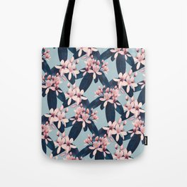 Galphimia in Prussian Blue Tote Bag