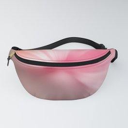 Peach Pink Blurr Abstract Design Fanny Pack