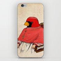 cardinal iPhone & iPod Skins featuring Cardinal by Jacob Waites