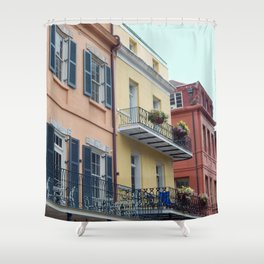 Balconies Shower Curtains | Society6