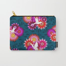 Tropical Flowers 1b Carry-All Pouch