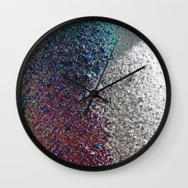 Colorful Dust in Sidelight Wall Clock