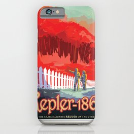 NASA Visions of the Future - Kepler-186f iPhone Case